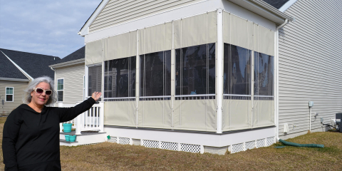 Screened Porch Enclosures Porch Protection Systems